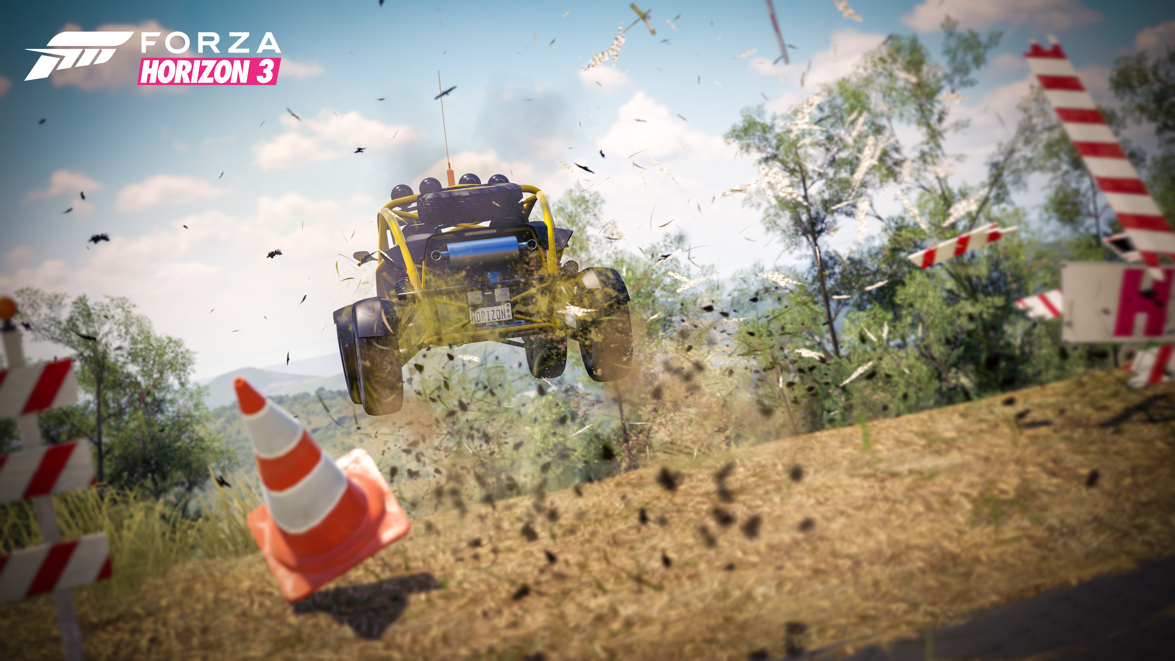 Danger Jump in Forza Horizon 3