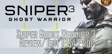 Test Sniper Ghost Warrior 3 (PS4 Pro)
